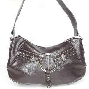 Liz & Co Brown Shoulder Bag Purse Western Style